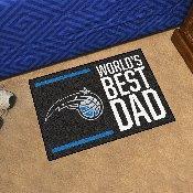 Orlando Magic Starter Mat - World's Best Dad - 19
