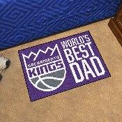 Sacramento Kings Starter Mat - World's Best Dad - 19