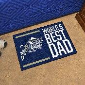 Navy Starter Mat - World's Best Dad - 19
