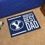 BYU Starter Mat - World's Best Dad - 19