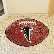 Atlanta Falcons Vintage Football Mat