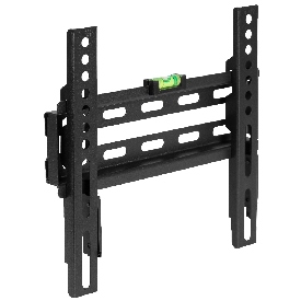 """FLASH MOUNT Fixed TV Wall Mount with Built-In Level - Max VESA Size 200 x 200mm - Fits most TV's 17""""- 42"""" (Weight Capacity 66LB)"""