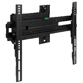 """FLASH MOUNT Full Motion TV Wall Mount - Built-In Level - Max VESA Size 400 x 400mm - Fits most TV's 32"""" - 55"""" (Weight Cap 55LB)"""