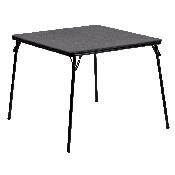 Black Folding Card Table