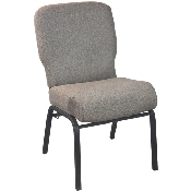 Advantage Signature Elite Tan Speckle Church Chair - 20 in. Wide