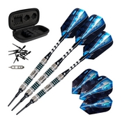 Viper Astro Tungsten Soft Tip Darts Green Rings 18 Grams