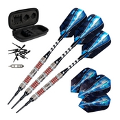 Viper Astro Tungsten Soft Tip Darts Red Rings 18 Grams