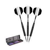 Elkadart Black 150 Jet Black Steel Tip Darts 20 Grams