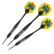 Viper Comix Steel Tip Darts Black 22gm