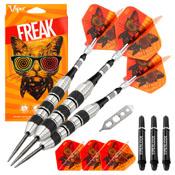 Viper The Freak Steel Tip Darts Knurled and Shark Fin Barrel 22 Grams