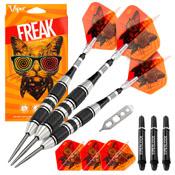 Viper The Freak Steel Tip Darts 3 Knurled Rings Barrel 22 Grams