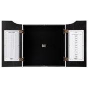 Viper Hudson Dartboard Cabinet Black