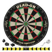 Viper Dead-On Bristle Dartboard