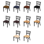 610 Contessa Chair with Black Wrinkle Finish