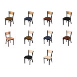 630 Contessa Chair with Black Wrinkle Finish