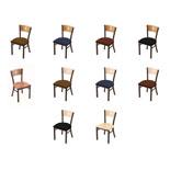630 Contessa Chair with Bronze Finish