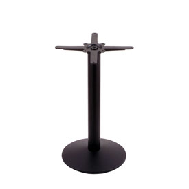 """214 Black Cast Iron Table Height Base with 16"""" Dia. Round Foot by Holland Bar Stool Company"""
