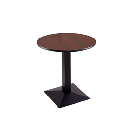 """30"""" 217 Black Table with 24"""" Diameter Top by Holland Bar Stool"""