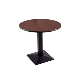 """30"""" 217 Black Table with 30"""" Diameter Top by Holland Bar Stool"""