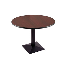 """30"""" 217 Black Table with 36"""" Diameter Top by Holland Bar Stool"""