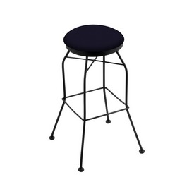 3020 Swivel Stool with Black Wrinkle Finish and Canter Twilight Seat