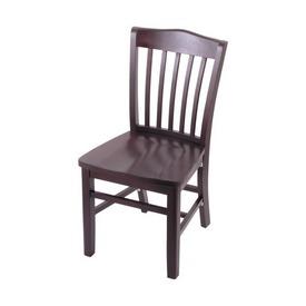 "3110 18"" Chair with Dark Cherry Finish and a Dark Cherry Seat"