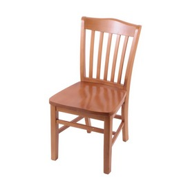"""3110 18"""" Chair with Medium Finish and a Medium Seat"""