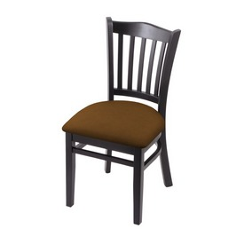 """3120 18"""" Chair with Black Finish and Canter Thatch Seat"""