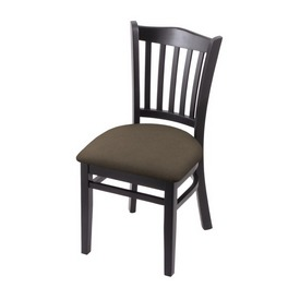 """3120 18"""" Chair with Black Finish and Canter Earth Seat"""