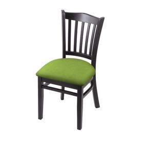 """3120 18"""" Chair with Black Finish and Canter Kiwi Green Seat"""
