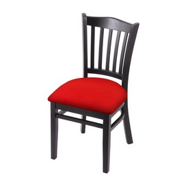 """3120 18"""" Chair with Black Finish and Canter Red Seat"""