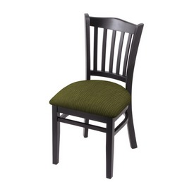 """3120 18"""" Chair with Black Finish and Graph Parrot Seat"""