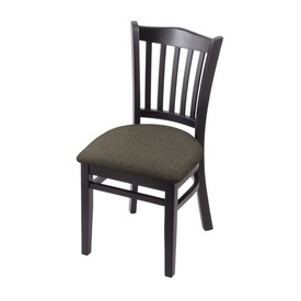 """3120 18"""" Chair with Black Finish and Graph Chalice Seat"""