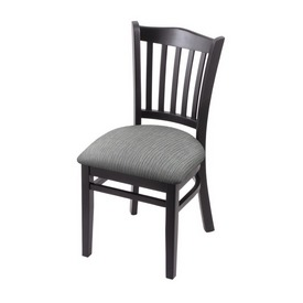 """3120 18"""" Chair with Black Finish and Graph Alpine Seat"""