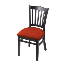 """3120 18"""" Chair with Black Finish and Graph Poppy Seat"""