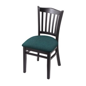 """3120 18"""" Chair with Black Finish and Graph Tidal Seat"""