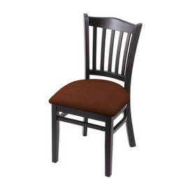 """3120 18"""" Chair with Black Finish and Rein Adobe Seat"""