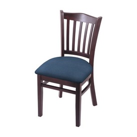 """3120 18"""" Chair with Dark Cherry Finish and Rein Bay Seat"""