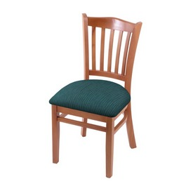 """3120 18"""" Chair with Medium Finish and Graph Tidal Seat"""