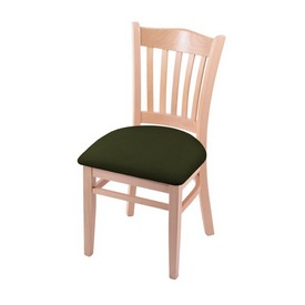 """3120 18"""" Chair with Natural Finish and Canter Pine Seat"""