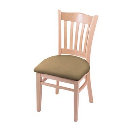 """3120 18"""" Chair with Natural Finish and Canter Sand Seat"""