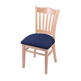 """3120 18"""" Chair with Natural Finish and Graph Anchor Seat"""