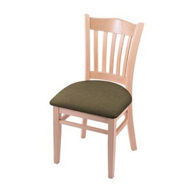 """3120 18"""" Chair with Natural Finish and Graph Cork Seat"""