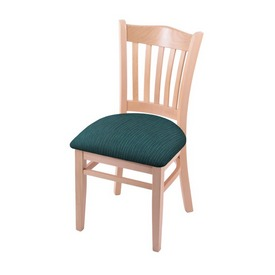 """3120 18"""" Chair with Natural Finish and Graph Tidal Seat"""