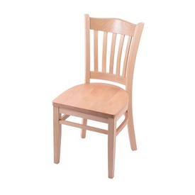 """3120 18"""" Chair with Natural Finish and Natural Seat"""