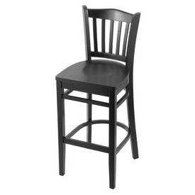 "3120 25"" Counter Stool with Black Finish and Black Seat"