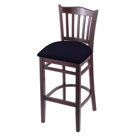 "3120 25"" Counter Stool with Dark Cherry Finish and Canter Twilight Seat"