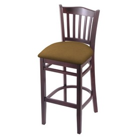"3120 25"" Counter Stool with Dark Cherry Finish and Canter Saddle Seat"