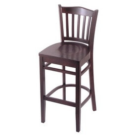 "3120 25"" Counter Stool with Dark Cherry Finish and Dark Cherry Seat"