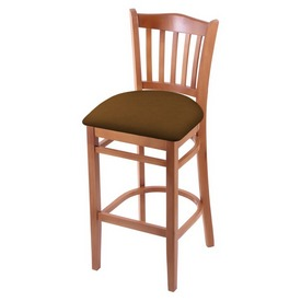 "3120 30"" Bar Stool with Medium Finish and Canter Thatch Seat"